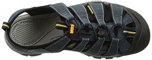 Keen Newport H2, Sandales de Randonnée Homme Bleu (Navy/medium Grey Navy/medium Grey)