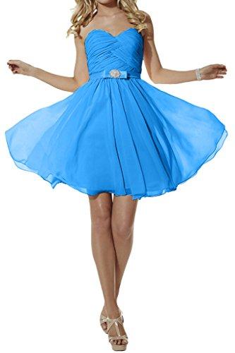 Missdressy -  Vestito  - linea ad a - Donna Blau