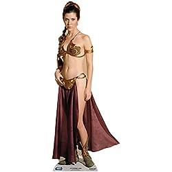 Star cutouts - Stsc469 - Figurine Géante - Leia Bikini - Stars Wars - 162 X 64 Cm