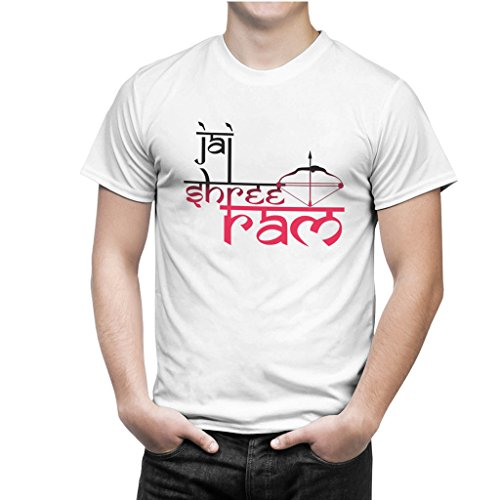 Navratri Special 4(Jai Sri Ram Bow-Arrow) Men Sports Wear T-Shirt by iberrys  available at amazon for Rs.399