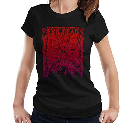 Cloud City 7 Necronomicon Ex Mortis Evil Dead Women's T-Shirt