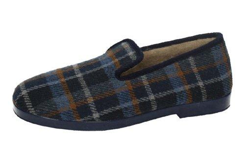Chapines, Pantofole uomo blu Size: 41