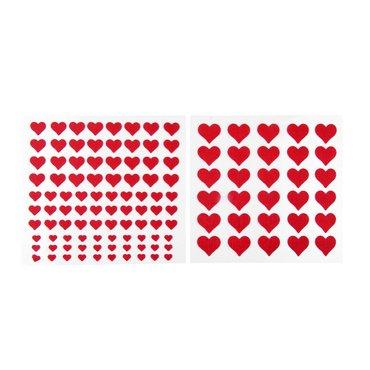 122Fieltro, pegatina en Corazón Corazones de fieltro, en 4Tamaños Diferentes