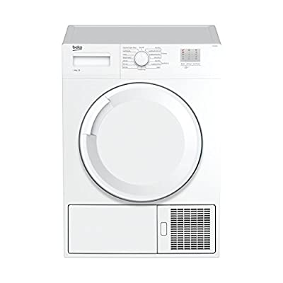 Beko DTGC8000W 8kg Freestanding Condenser Tumble Dryer - White