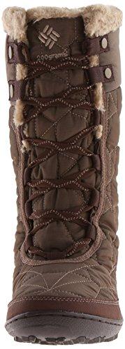 Columbia MINX II OMNI-HEAT TWEED Damen Langschaft Stiefel Braun (Saddle, Oxford Tan 269)