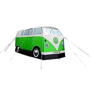 VW Bulli Camper Van Tent–Mint Green–with Ultrahellem Bag Headlight