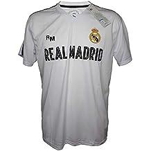 b81501f7d4 Camiseta Attack Adulto Real Madrid Producto Oficial Blanco - Primera  Equipacion