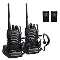 Walkie Talkie BF-888S, Sunreal Two Way Radios Built in LED Torch Microphone for Adults 2