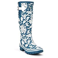 Evercreatures Delft Tall Wellies UK 3/EU 36 Blue
