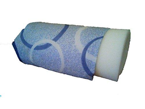 Abdeckung und Schaumstoff für Dampfbügelpresse, 3er-Set 1 Baumwolle, 1 metallisch, 1 metallisch in Industriequalität.