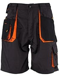 Emerton® - Pantalones cortos de trabajo para el verano - gris oscuro EU46