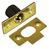 Bulk Hardware BH03558 Loqueteau à billes Laiton, 13 mm, Set de 2 Pièces