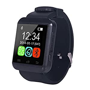 Corelink Bluetooth Smart Watch GSM Watch Smart Smartwatch Wristwatch Phone for Samsung Nexus Htc Sony and Other Android Smartphones White Black
