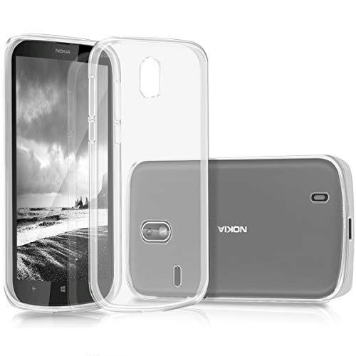 kwmobile Nokia 1 Hülle - Handyhülle für Nokia 1 - Handy Case in Transparent