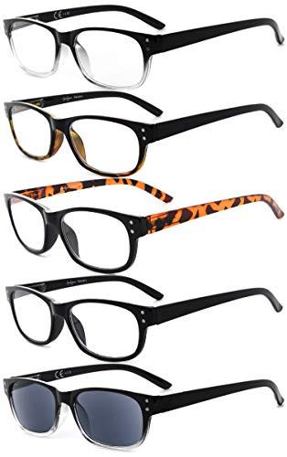 Eyekepper 5 Bisagras primavera Vintage Reading Glasses