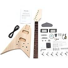 Rocktile 38311 - Kit de montaje para guitarra eléctrica estilo RR