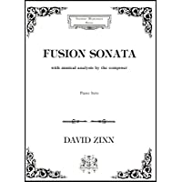 Fusion sonata: With musical analysis by the composer : piano solo (Excelsior masterwork series)