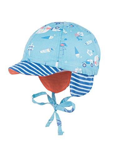 maximo-schildmutze-camping-mit-bindeband-ohrenklappen-sombrero-para-bebes-mehrfarbig-mehrfarbig-opal