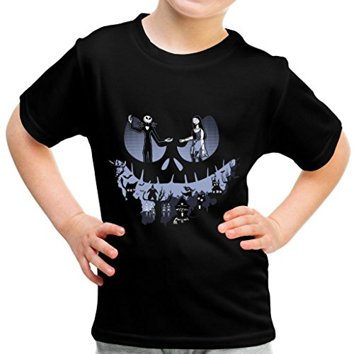 A Lovely Nightmare Before Christmas Jack Skellington Halloween Kid's T-Shirt (Danny Halloween 6)