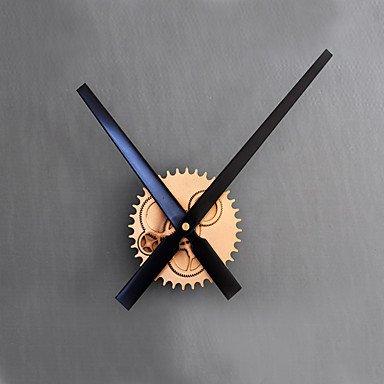 Y & M moderne/contemporain/rétro vacances/inspirazionale/dessins animés/Famille Horloge murale – Rond/Nouveauté Acrylique/Verre Or