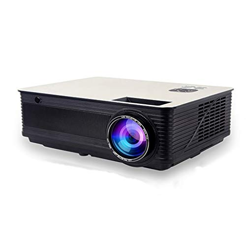 GJY Proyector hogar pequeña Oficina HD 1080P proyector