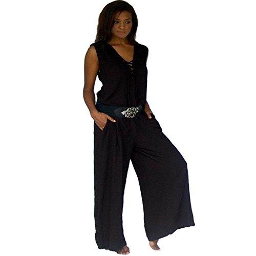 LOTUSTRADERS Damen Jumpsuit (Plus Size Gauchos)