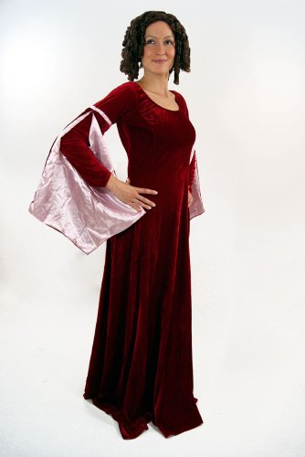 Kostüm Kleid Mittelalter Burgfräulein Gothic Romanik 44 - 4