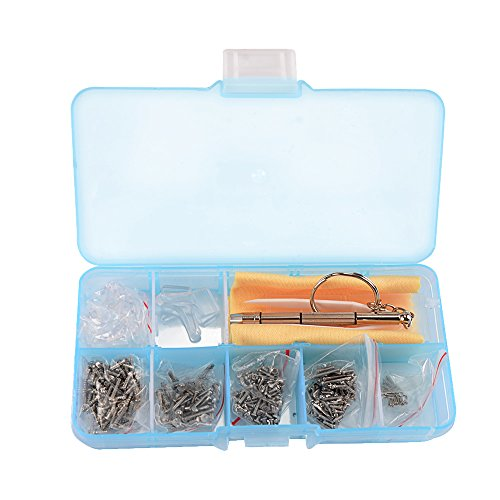 Eyeglasses Sunglass Spectacles Tiny Screws Nut Kit