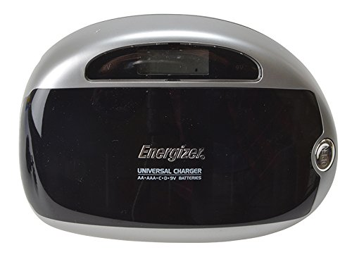 Energizer Universal Battery Charger with Smart LCD 2-5Hrs Charging Time for Ni-MH AAA AA C D 9V Ref 629874