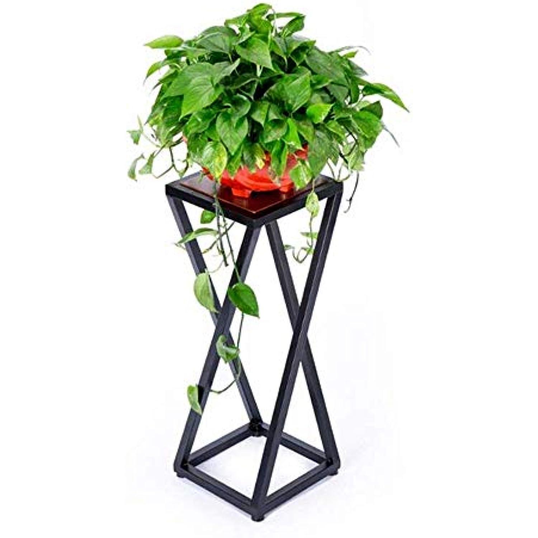 FuweiEncore Support de de Fleurs en Fer Salon d'intérieur Balcon Pot de Support Fleurs Présentoir en métal Support à Fleurs d'angle   L30 & Times; W30 & Times; H80CM (coloré :  , Taille :  ) ad5576