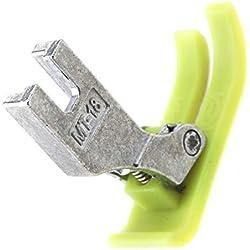 BIYM Pied presseur de téflon pour Machine à Coudre en Cuir PVC MT18 pour Brother indu