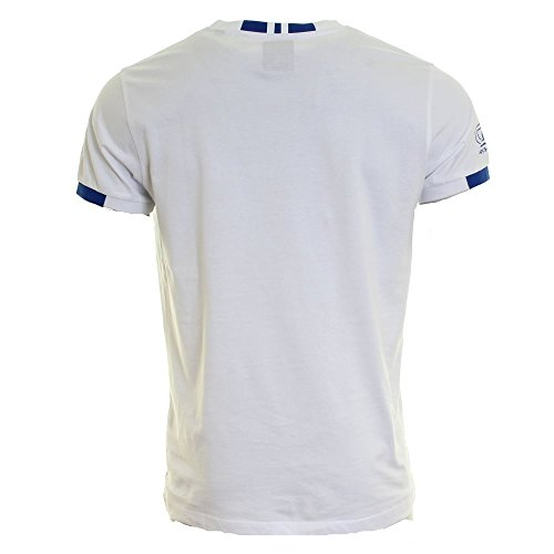 HACKETT LONDON Herren T-Shirt Aston Martin Racing Logo Tee White