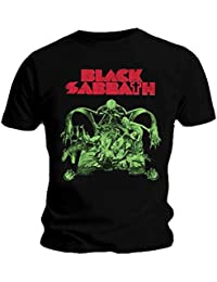 Black Sabbath Official T Shirt Vintage Sabbath Cutout Logo All Sizes