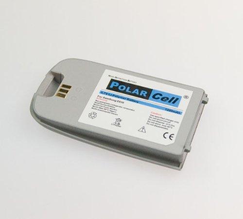 NFE² Edition Polarcell Lithium-Polymer Akku - 1200mAh - für Samsung SGH-E630 hellblau