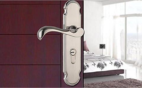 Wandun Antique Verrouillage de porte en cuivre Chambre à coucher