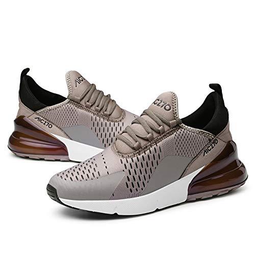 YAYADI Uomo Scarpe Running Sport Outdoor Traspirante Confortevole Uomini Sneakers Unisex Sneakers,44