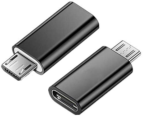 pter, USB-Adapter Typ C auf Micro-USB-Stecker-Konverter USB-Adapter Typ C-Buchse Daten-Sync-Adapter Typ C ()