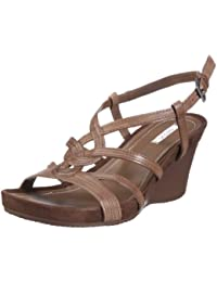 Geox Textil Donna Roxy S D1196F00043C6000 - Sandalias de vestir de cuero para mujer