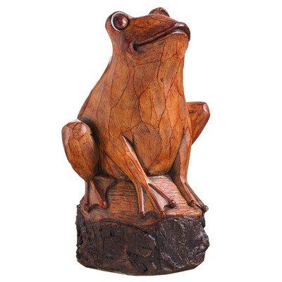 Forest Friend in legno intagliato a forma