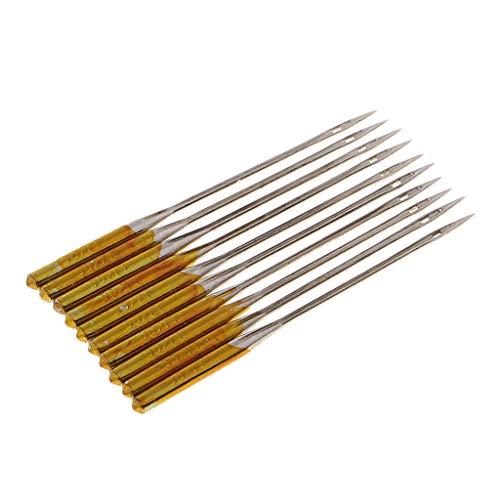 F Fityle 10x Nähmaschinen-Nadeln Universal Anti-Jumper Nadel - Größe 14 (Nähmaschine, Nadel-größen)