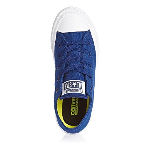 Converse Chuck Taylor All Star II Junior Sodalite Blue Textile Trainers blue