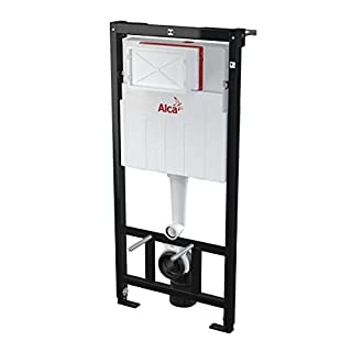 Alcaplast Concealed Toilet Carrier Frame with Dual-Flush Tank
