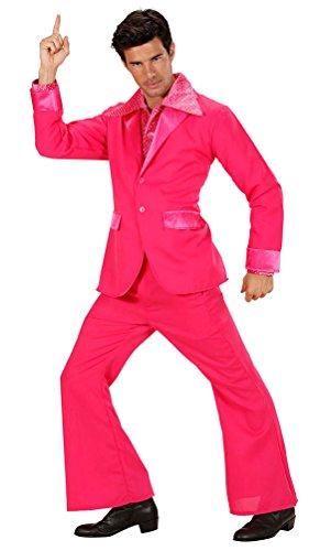 Karneval-Klamotten Kostüm Disco Fever Herr Karneval Party Herrenkostüm Größe 52