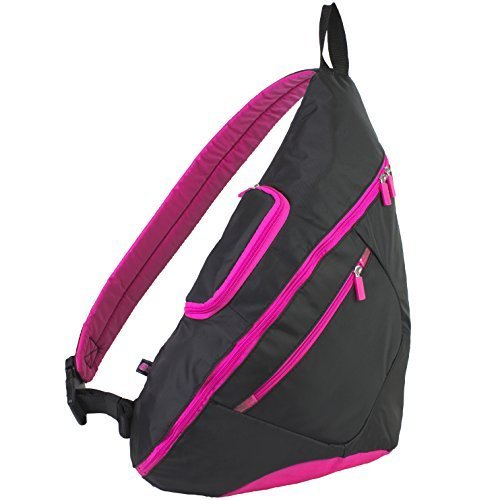 eastsport-crossbody-trapeziod-backpack-hot-pink-black-by-bijoux-inc