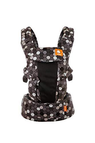 Tula Explore Coast TBCP6G91 Buzz - Portabebés ergonómico y ajustable con posición frontal hacia fuera diseñado para crecer con tu bebé de 3,2 a 20,4 kg sin necesidad de un cojín bebé