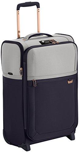 Samsonite Uplite Upright 55/20 Length 35 cm Koffer, 40 Liter, Pearl/Blau
