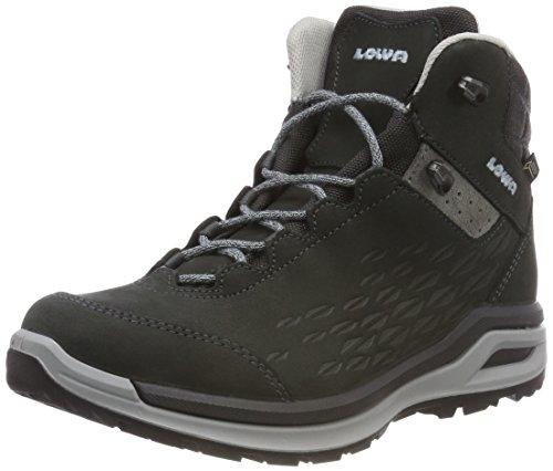 Lowa Damen Locarno GTX Qc Trekking- & Wanderstiefel, Grau (Anthrazit/eisblau 9771), 42 EU