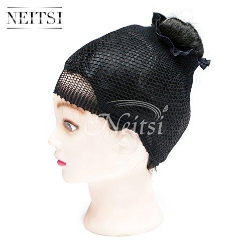 Neitsi®-Parrucca calza Cap Cool Open Net parrucca, capelli Net cuffia ideale per tutte le lunghezze