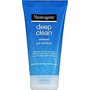 Neutrogena – Deep Clean Gel Exfoliante vivifiant – Tubo 150 ml