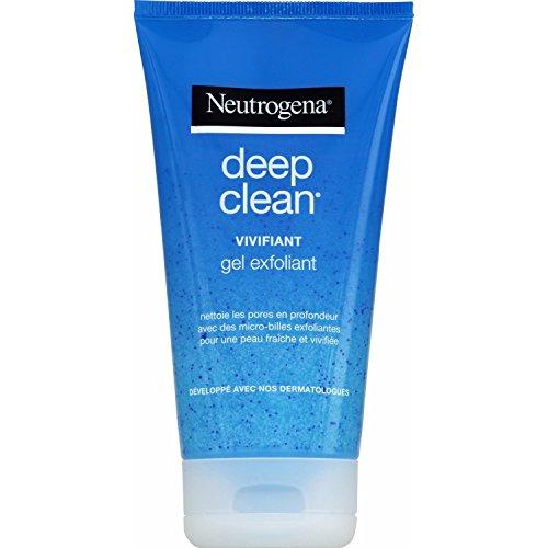 Neutrogena–Deep Clean Gel Exfoliante vivifiant–Tubo 150ml